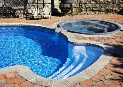 Cannonball Pools Installation with Hot Tub 2