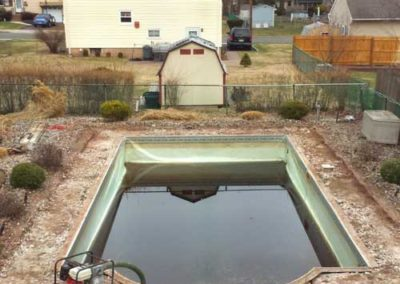 Pool Renovations - Old Pool 1